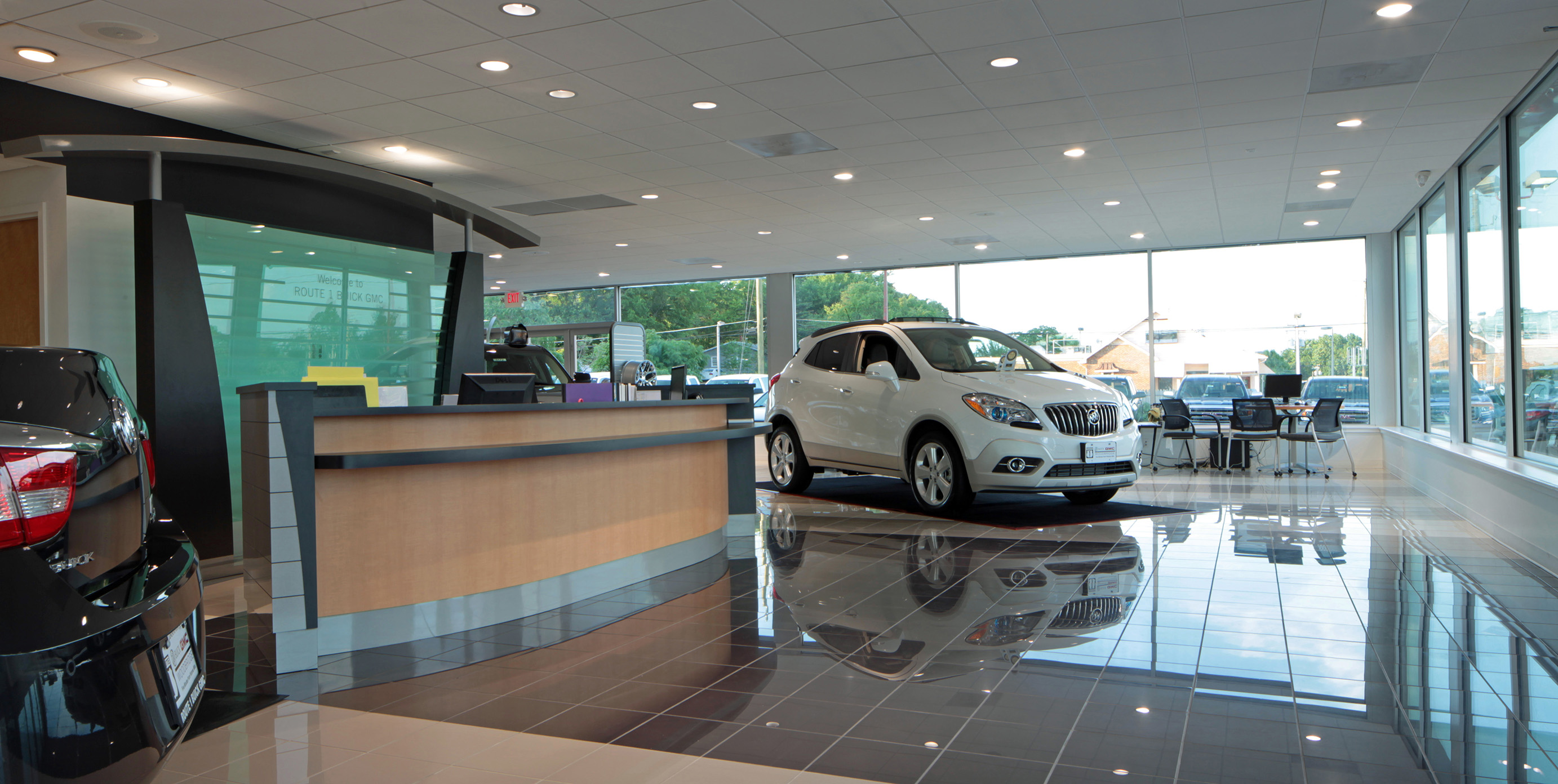 route 1 buick gmc | loveless porter architects, llc