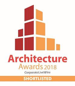 LPA Nominated for Corporate LiveWire  2018 Architecture Awards