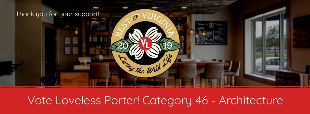 "Vote Loveless Porter ""Best Architecture Firm"""