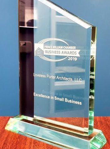 Loveless Porter Architects Wins Award for Excellence in Small Business
