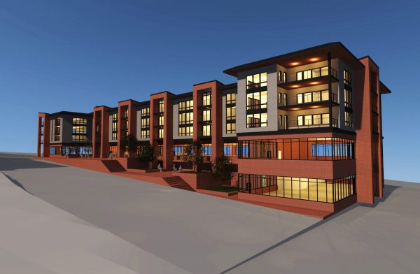 In the Works: Multi-Use Project, Walker Road, Harris Building II